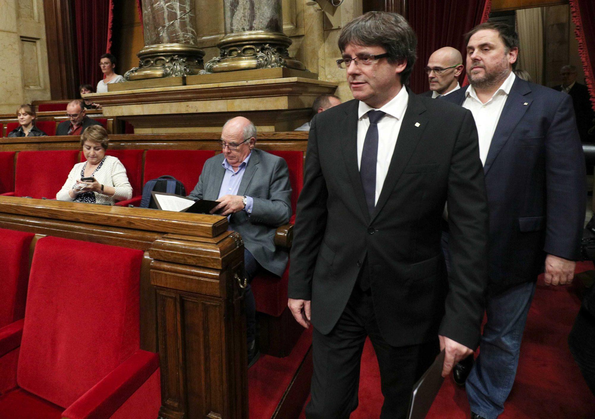 Risultati immagini per foto del leader catalano