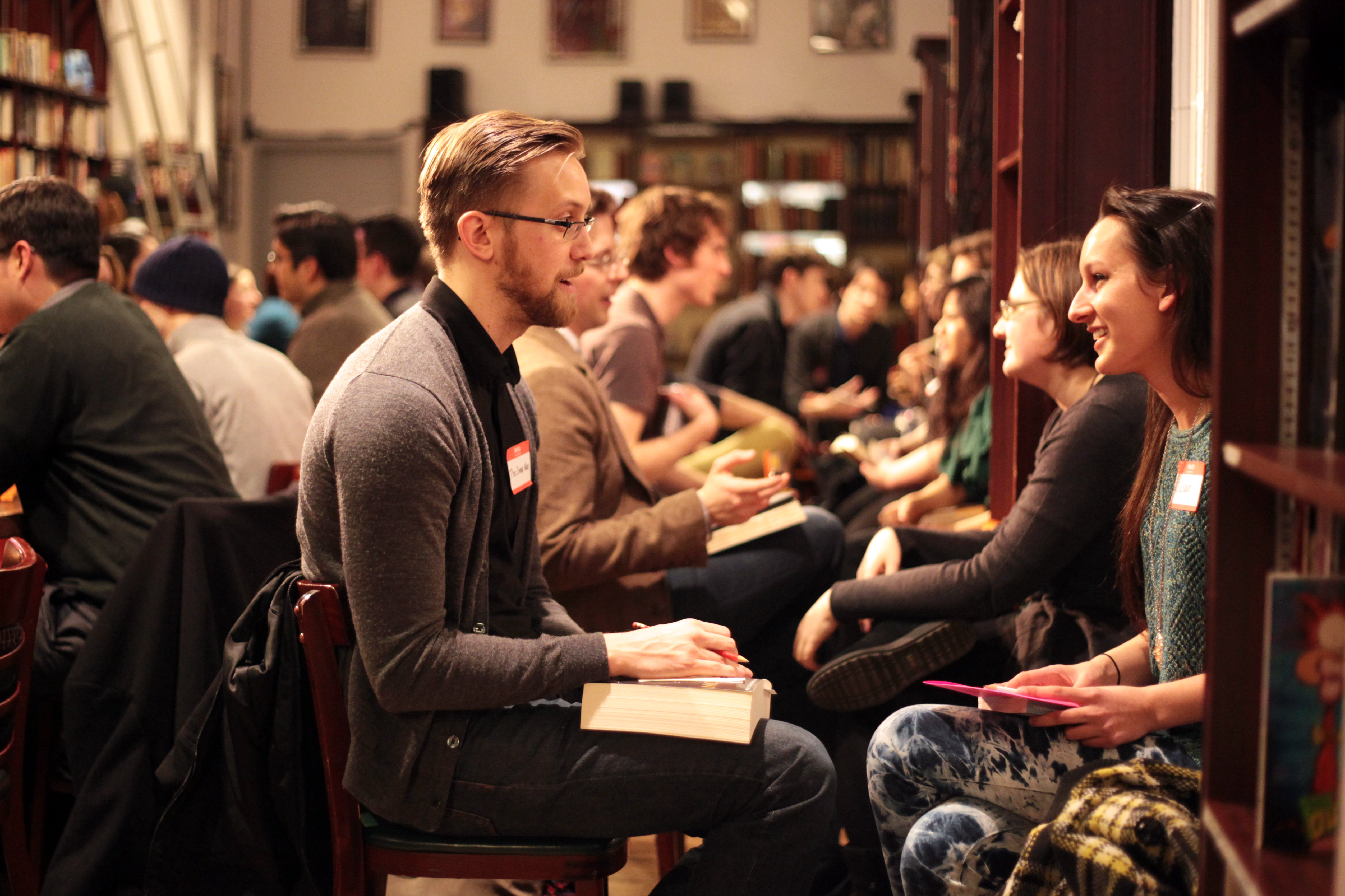 Speed Dating Events Help Regional Journalism Students Gain Confidence And Industry Contacts