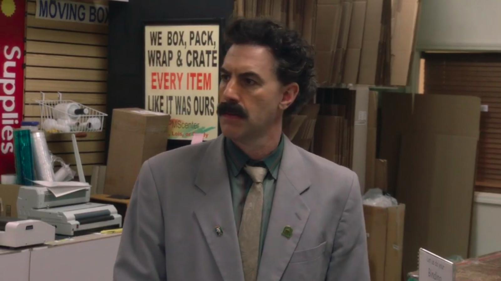 Le polemiche tra Trump e Sacha Baron Cohen sono i migliori contenuti extra del nuovo film di Borat - The Vision